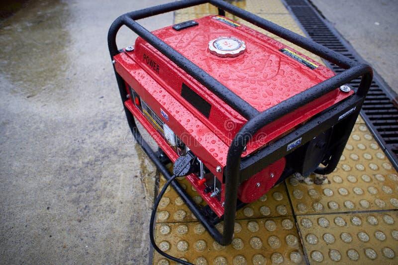 Gerador elétrico imagens de stock