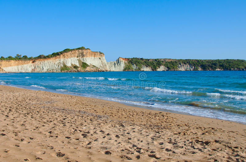 Gerakas beach stock images