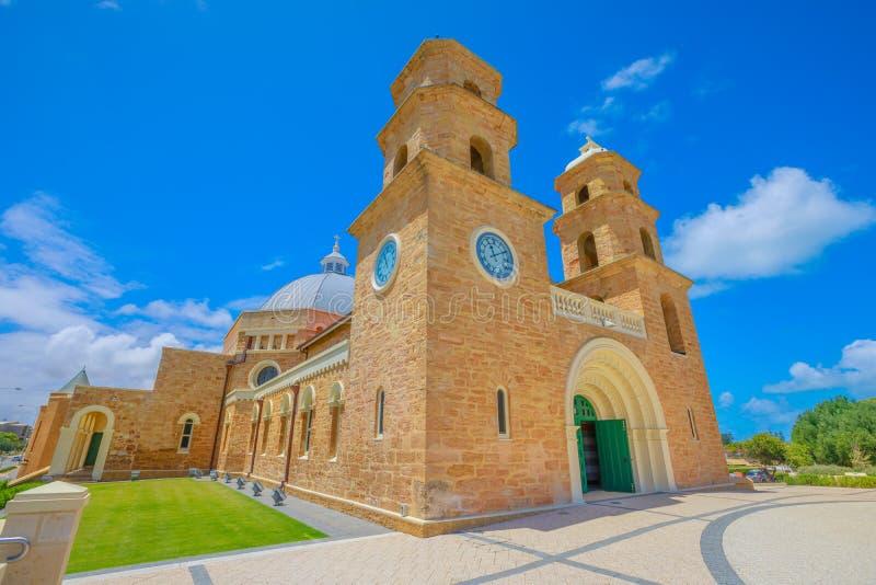Geraldton Xavier Cathedral royalty-vrije stock afbeeldingen