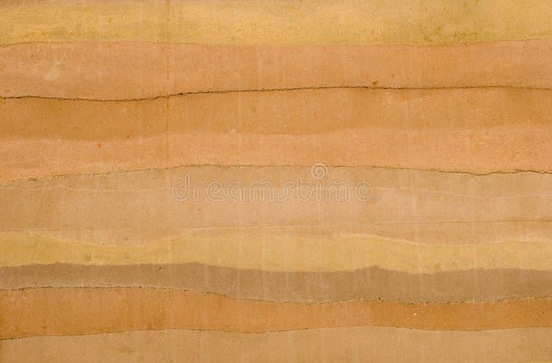 Gerammte Erde-Wand lizenzfreies stockbild
