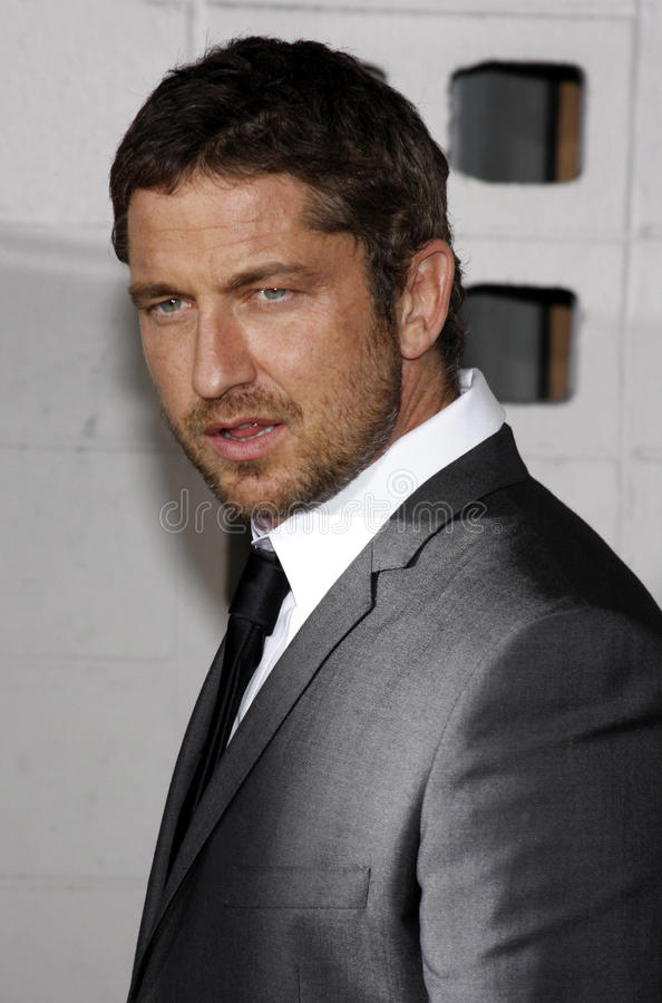 Gerard Butler. At the Los Angeles Premiere of `RockNRolla` held at the Arclight Theater in Los Angeles, California, United States on October 6, 2008 stock image