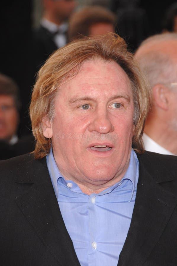 Gerard Depardieu fotografie stock libere da diritti