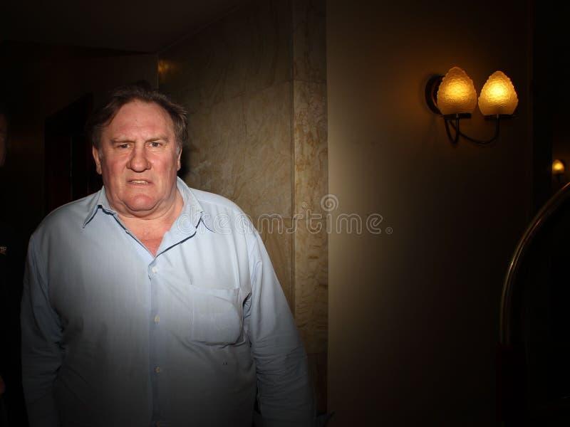 Gerard Depardieu stock foto