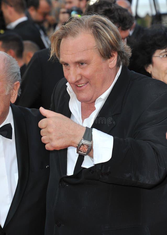 Gerard Depardieu stock fotografie