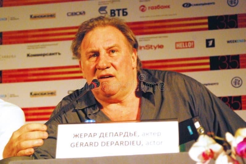 Gerard Depardieu stock images