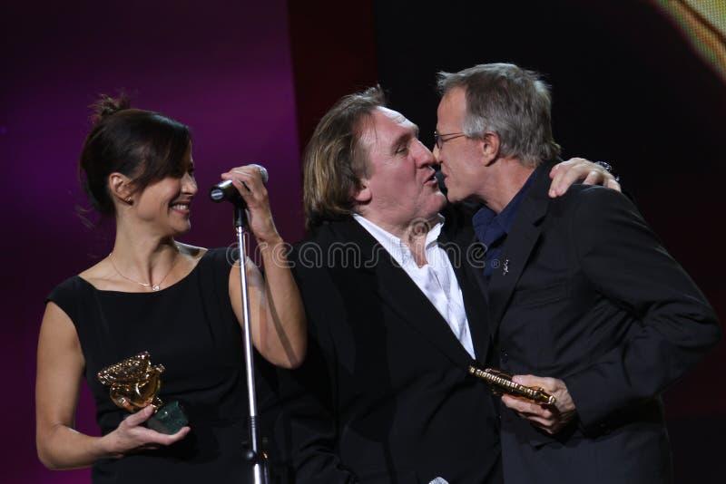 Download Gerard Depardieu And Cristopher Lambert, Sophie M Editorial Photography - Image: 16762622