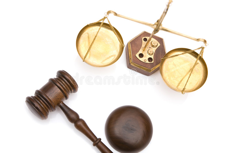 Gerechtigkeit stockbilder