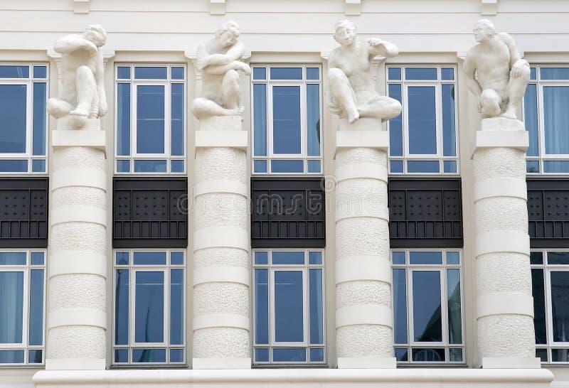 Gerechtigkeit-Gericht an Hochebene-Str. Esprit, Luxemburg stockfoto