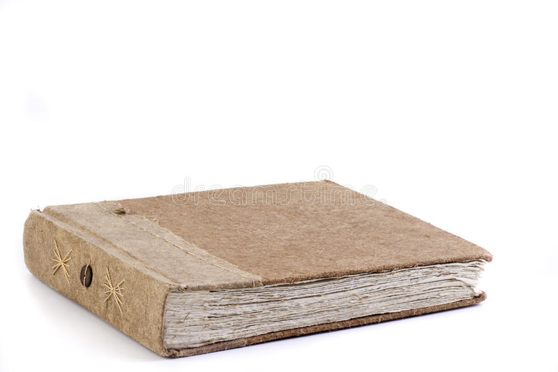 Gerecycleerd dagboek royalty-vrije stock afbeelding
