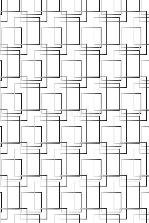 Geregeld Geometrisch Patroon stock illustratie