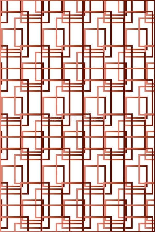 Geregeld Geometrisch Patroon royalty-vrije illustratie