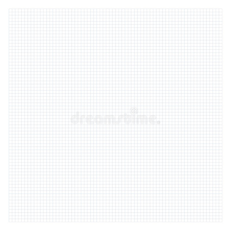 Geregeld grijs wiskundedocument Netachtergrond voor School stock illustratie