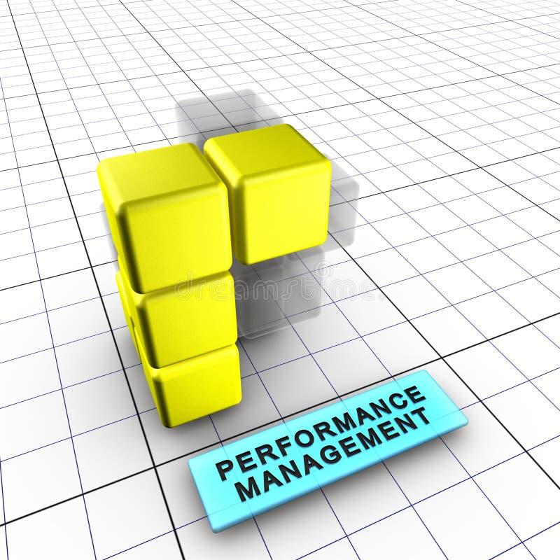 gerencia 5-Performance (5/6) stock de ilustración