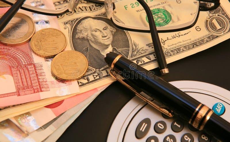 Gerencia de dinero fotografía de archivo