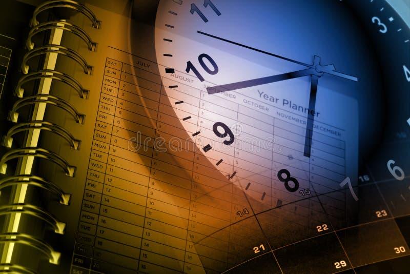 Gerencia de tiempo foto de archivo