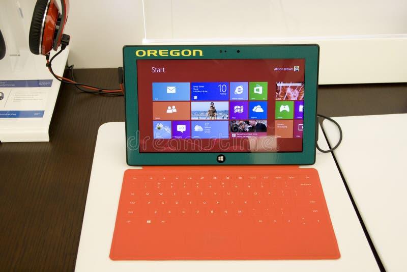 De tablet van de Oppervlakte van Microsoft royalty-vrije stock foto's