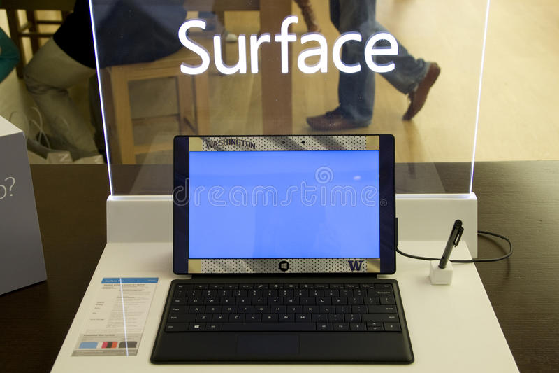 De tablet van de Oppervlakte van Microsoft royalty-vrije stock fotografie