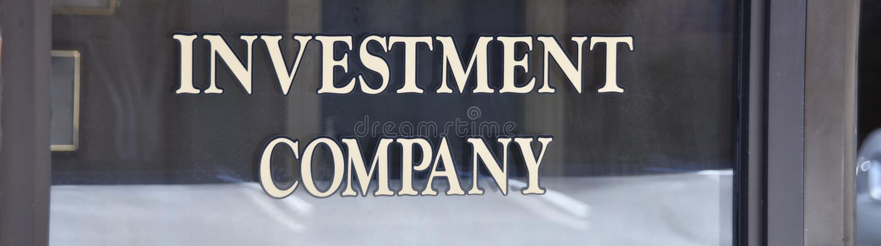 Gerente de dinheiro do investimento e das seguranças imagem de stock royalty free