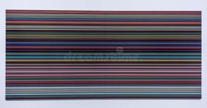 Gerhard Richter, γεννημένο το 1932, Γερμανία στοκ φωτογραφία με δικαίωμα ελεύθερης χρήσης