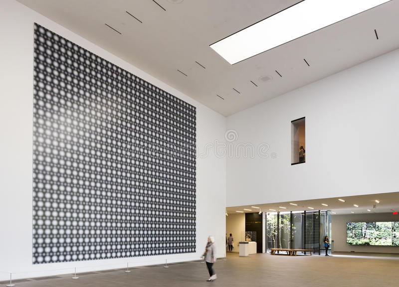 Gerhard Richter Strontium σε de Young Museum στοκ εικόνες με δικαίωμα ελεύθερης χρήσης