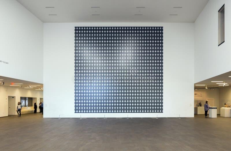 Gerhard Richter Strontium σε de Young Museum στοκ εικόνες