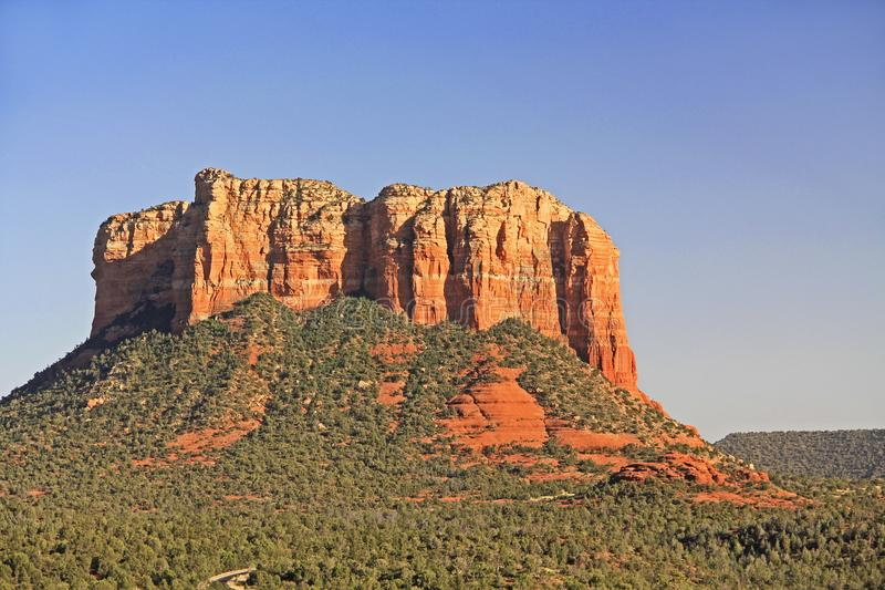 Gericht Butte-Bildung in Sedona Arizona stockfotografie