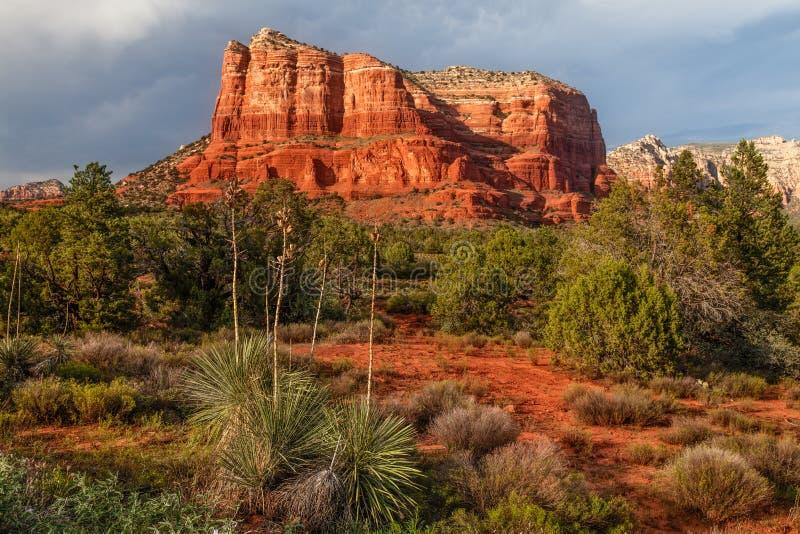Gericht Butte Sedona Arizona stockfotografie
