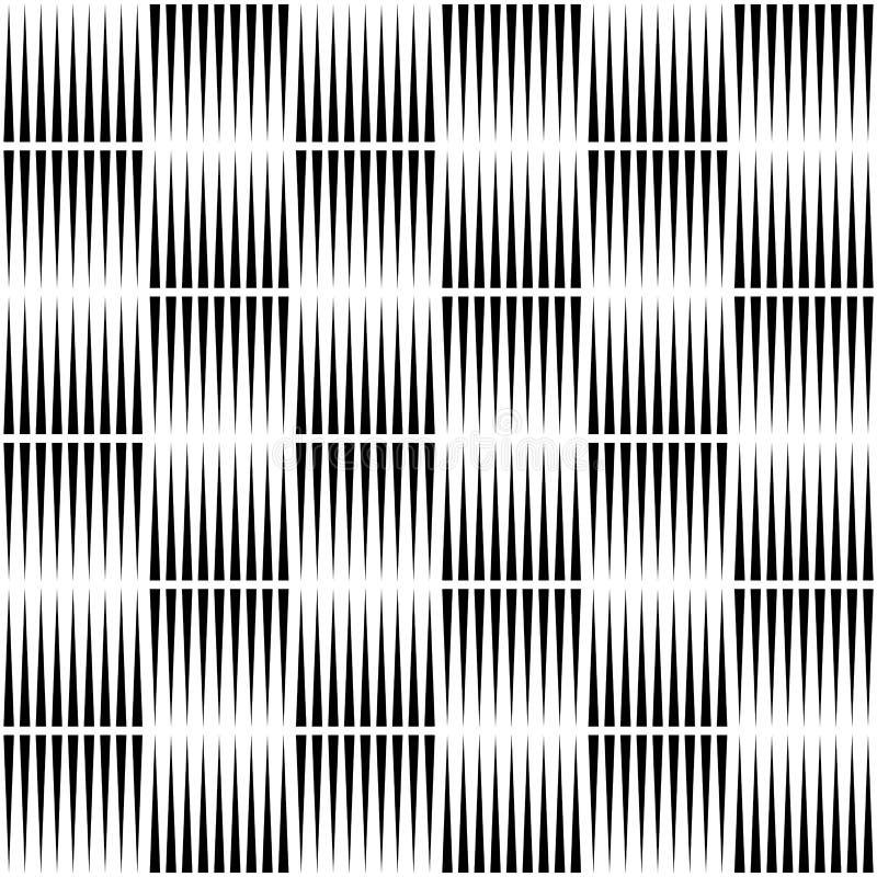 Gericht lijnen herhaalbaar patroon royalty-vrije illustratie