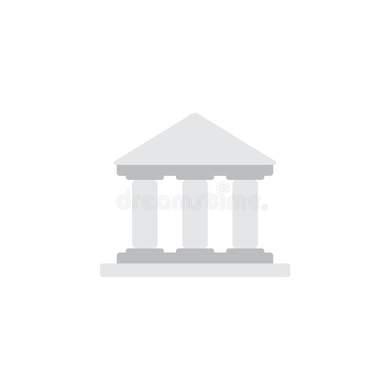 Gericht Logo Icon Design vektor abbildung