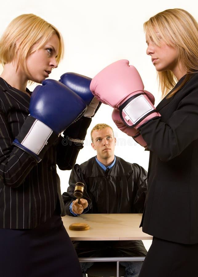 Gerichtlicher Kampf
