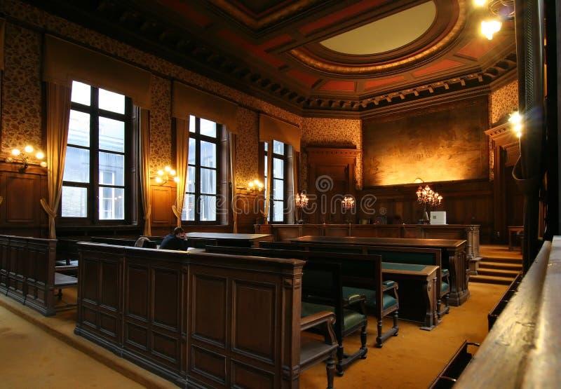 Gerichtsraum stockfotos
