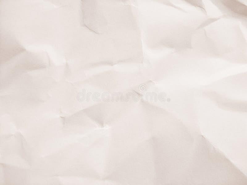 Gerimpeld document stock foto