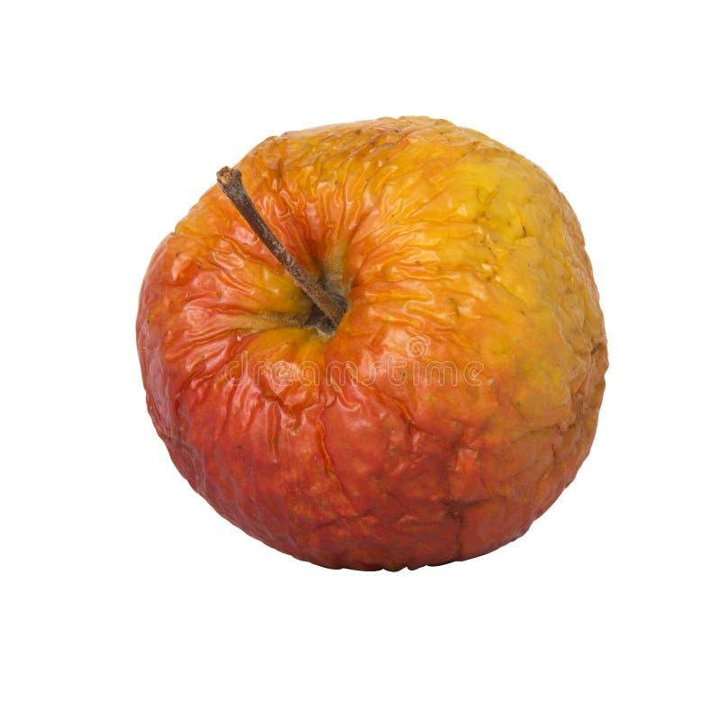 Gerimpelde appel stock afbeeldingen