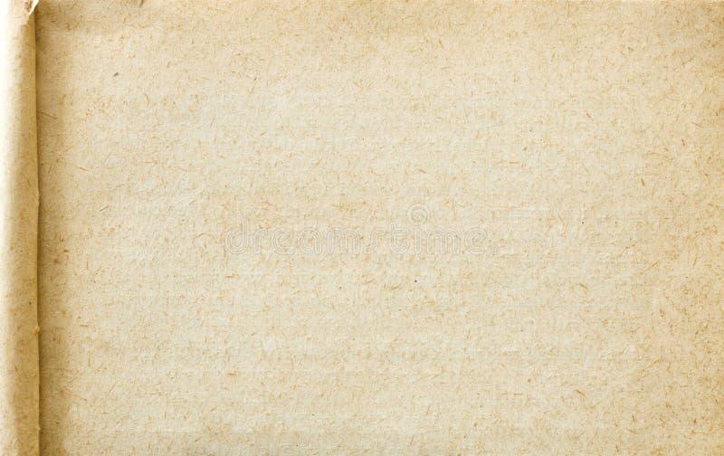 Gerimpelde (document) textuur stock fotografie