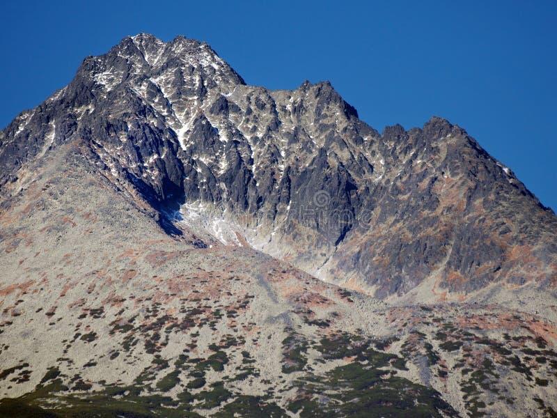 Download Gerlach Peak In Slovak High Tatras At Autumn Stock Photo - Image of natural, cauldron: 27682870