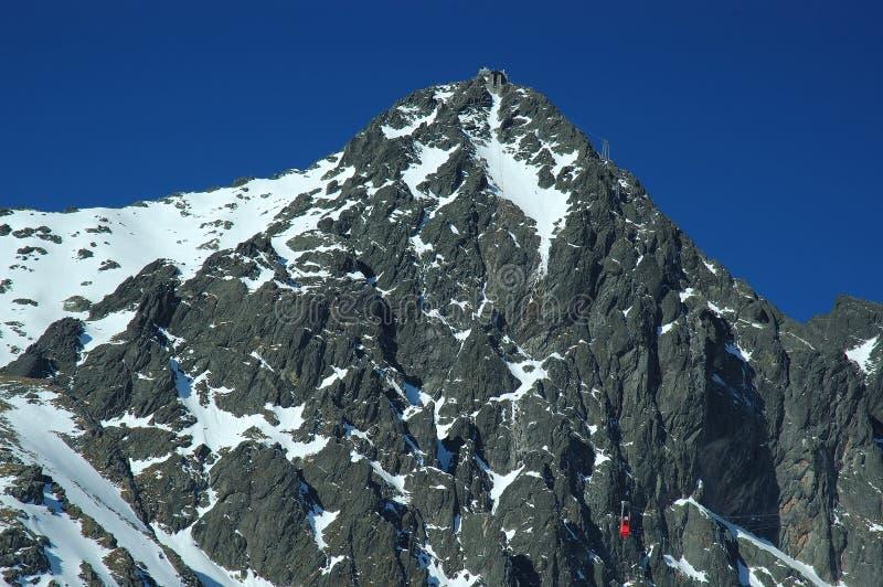 Gerlach Peak, Slovakia stock photo