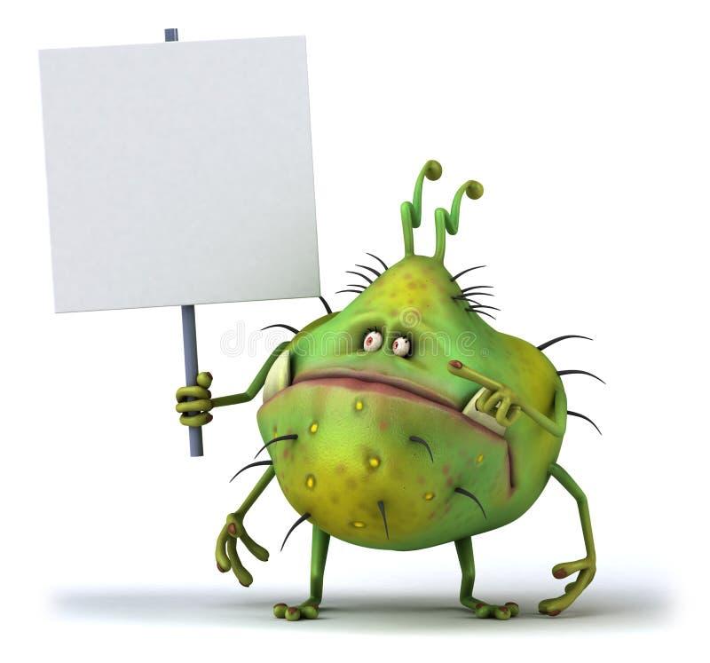 Germ stock illustration