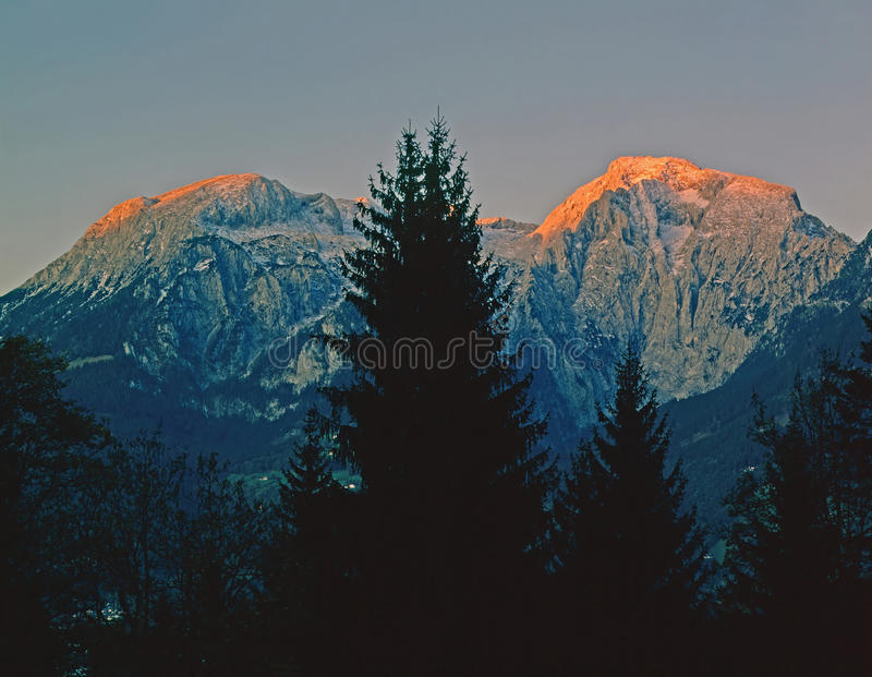 German Alps royalty free stock image