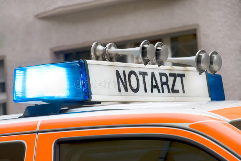 Download German ambulance stock image. Image of accident, words - 14561963