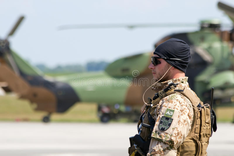 German army soldier royalty free stock photography