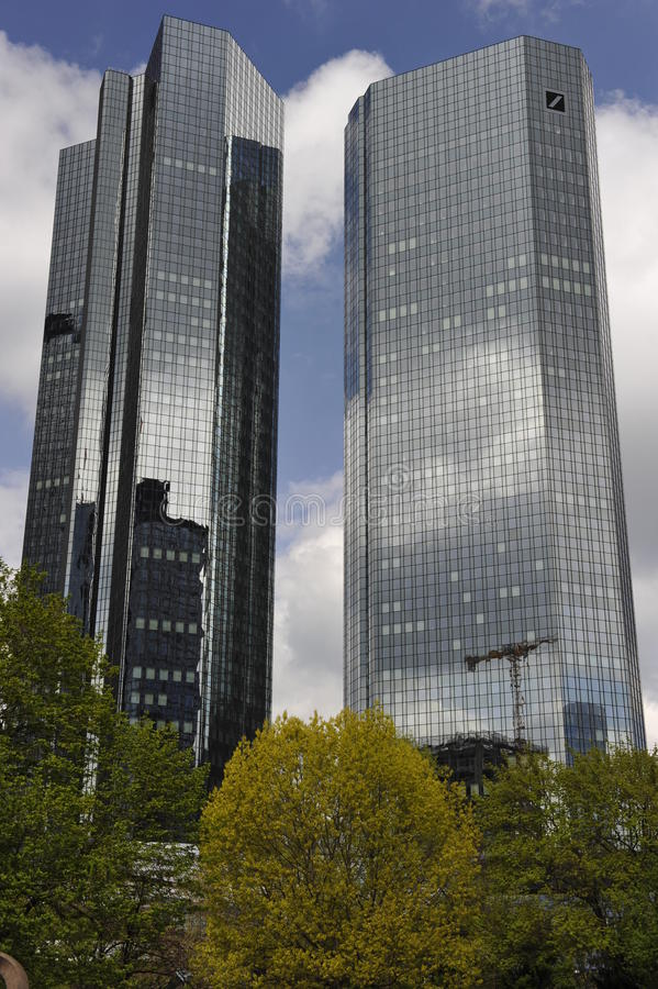 Download German Bank In Frankfurt On The Main, Germany Editorial Image - Image: 24480835