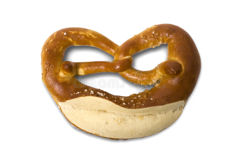 German Bavarian Oktoberfest Pretzel Royalty Free Stock Image