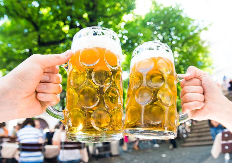 German beer royalty free stock images