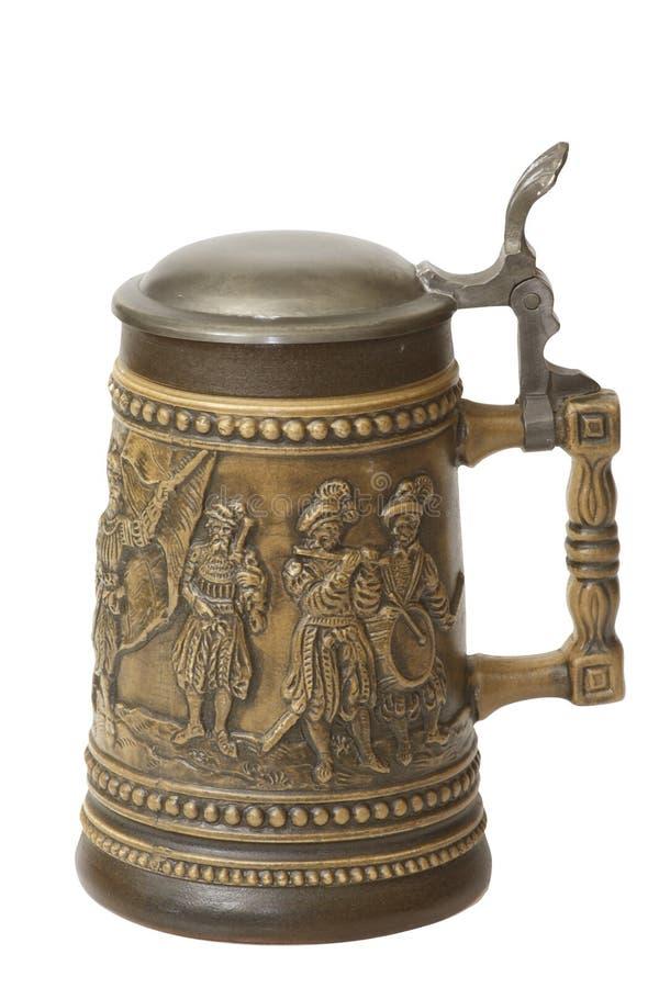 German beer jug royalty free stock image