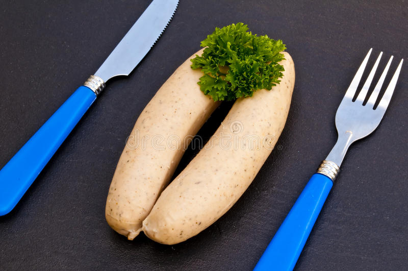 Download German Bratwurst stock photo. Image of sausage, speziality - 25466962
