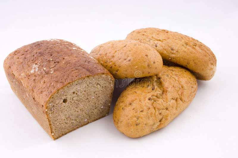German Bread And Rolls Royalty Free Stock Image