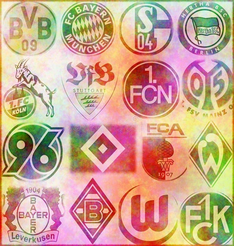 German Bundesliga royalty free stock photos