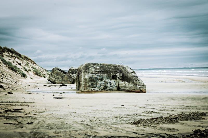 Download German bunker stock photo. Image of front, jutland, kandestederne - 20974658