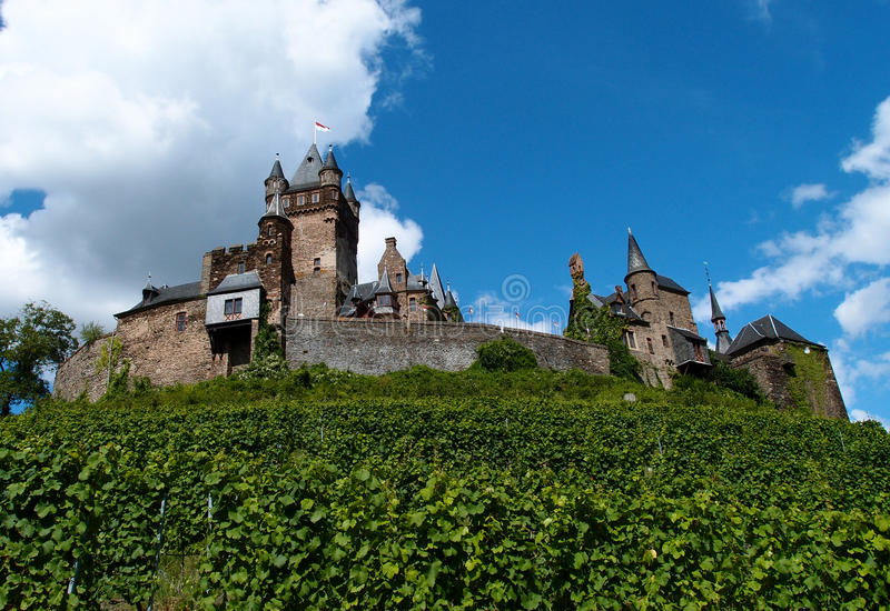 German castle royalty free stock photography