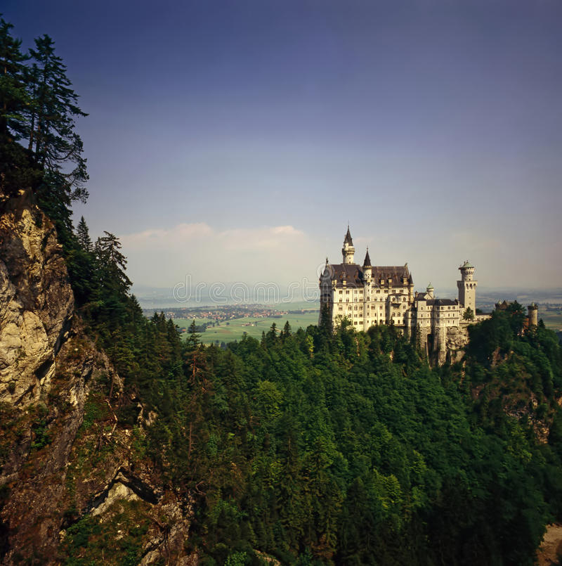 German Castle royalty free stock photos